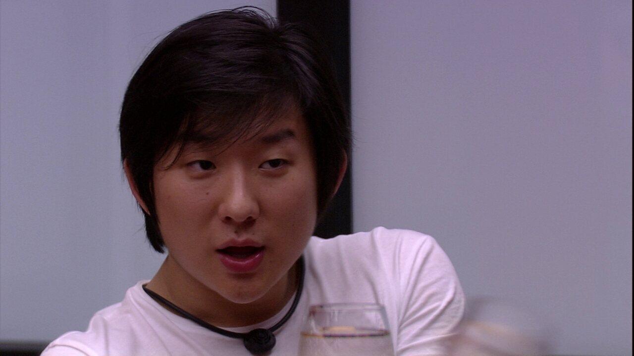 Pyong explica plano de Paredão e afirma não querer colocar Babu e nem Felipe