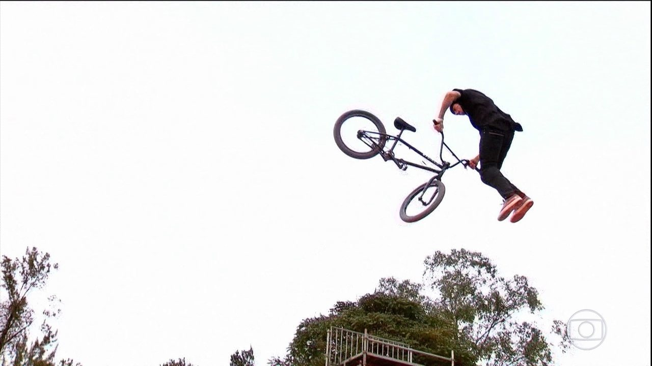 BMX estilo livre vai agitar a tela da Globo, no domingo (23), no Verão Espetacular