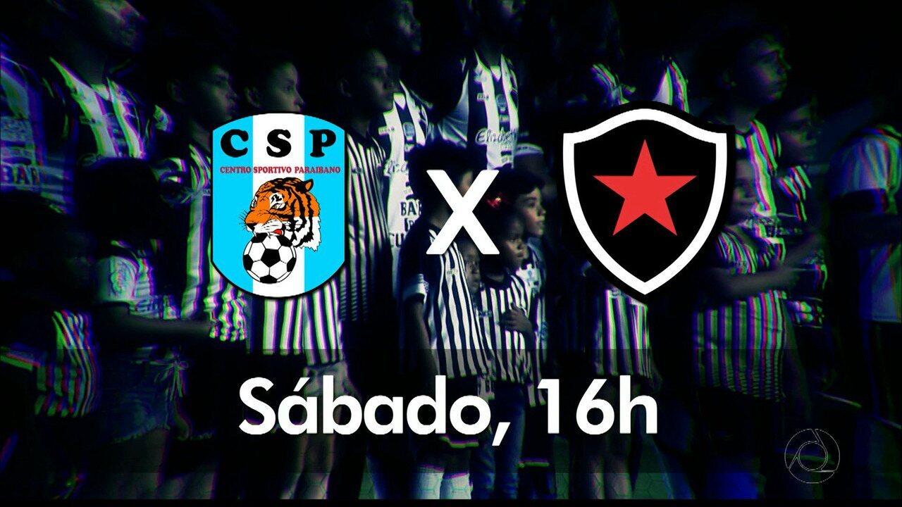 GloboEsporte.com vai transmitir CSP x Botafogo-PB, ao vivo, neste sábado