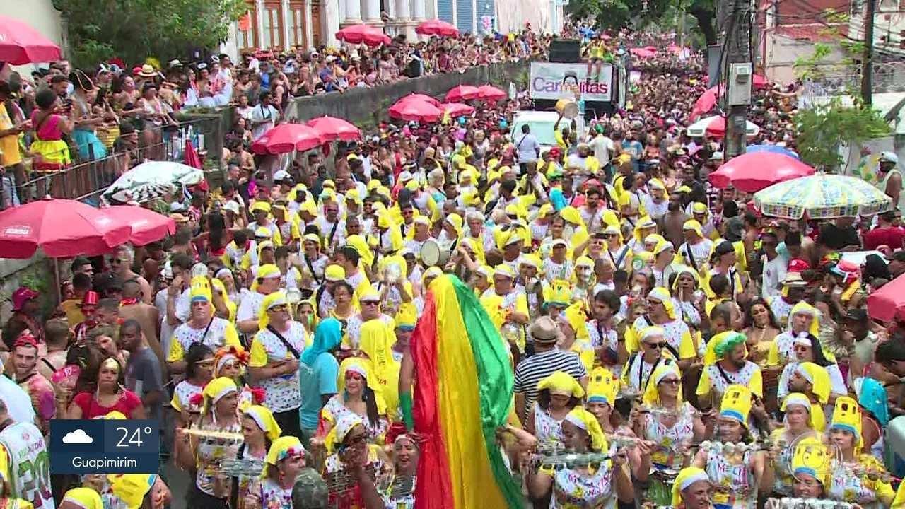 Carmelitas arrasta multidão pelas ladeiras de Santa Teresa
