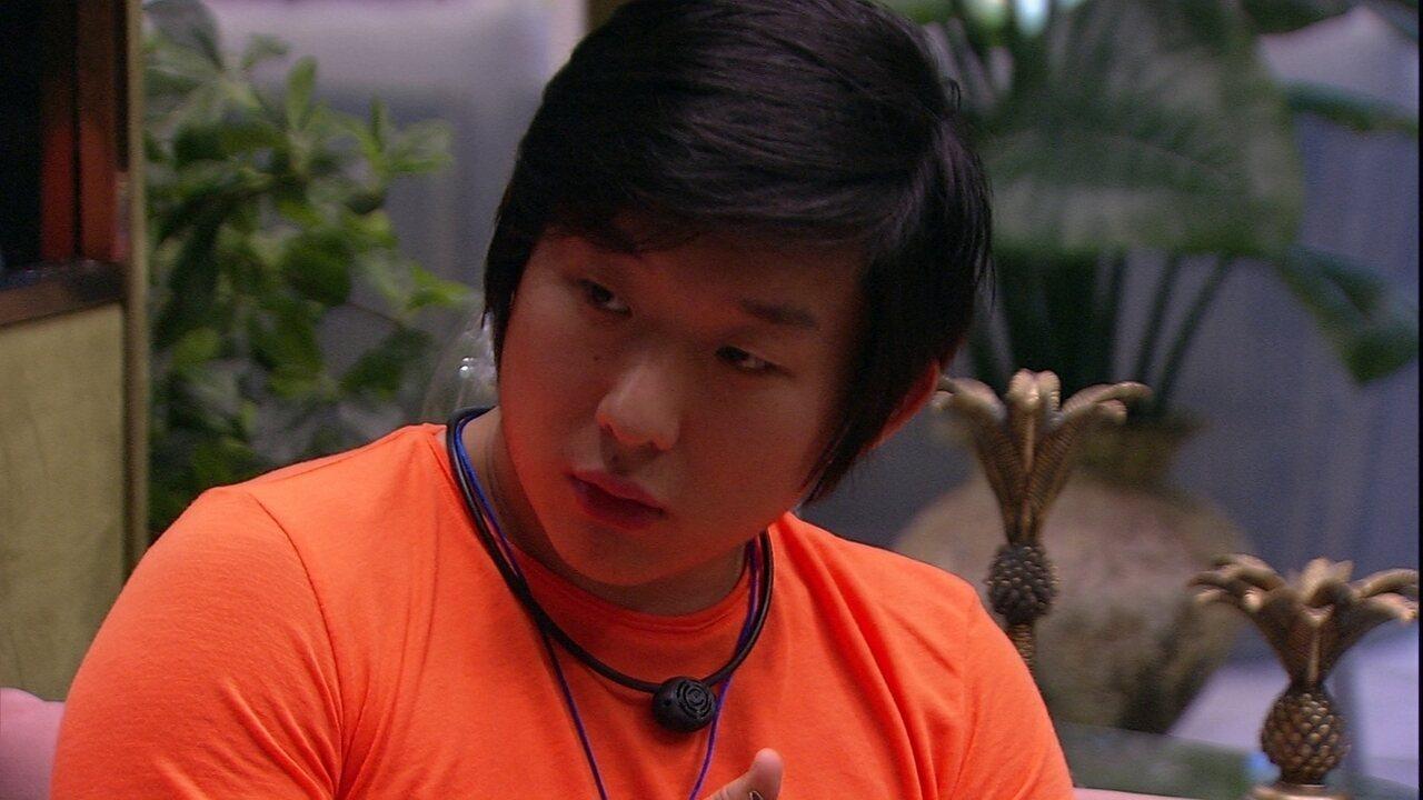 Pyong fala: 'Eu vou neutralizar os dois votos'