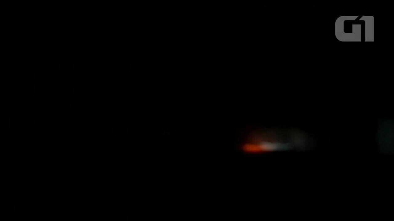Morador de Porto Velho registra incêndio em transportadora