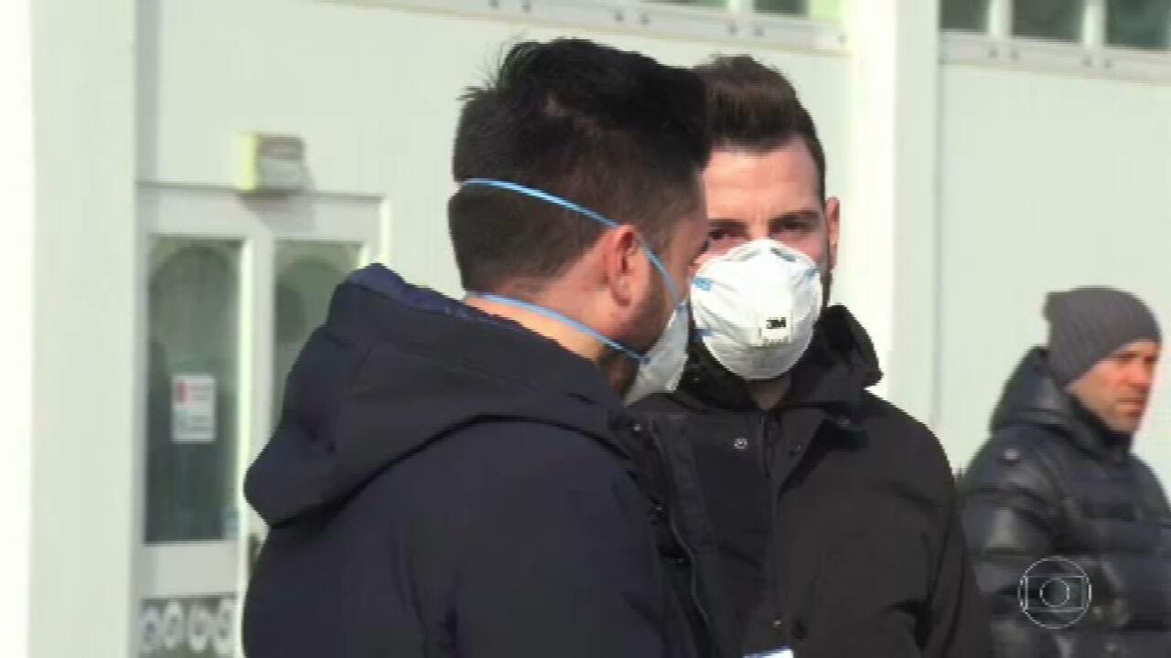 Itália confirma quinta morte e impõe quarentena a mais de 50 mil pessoas