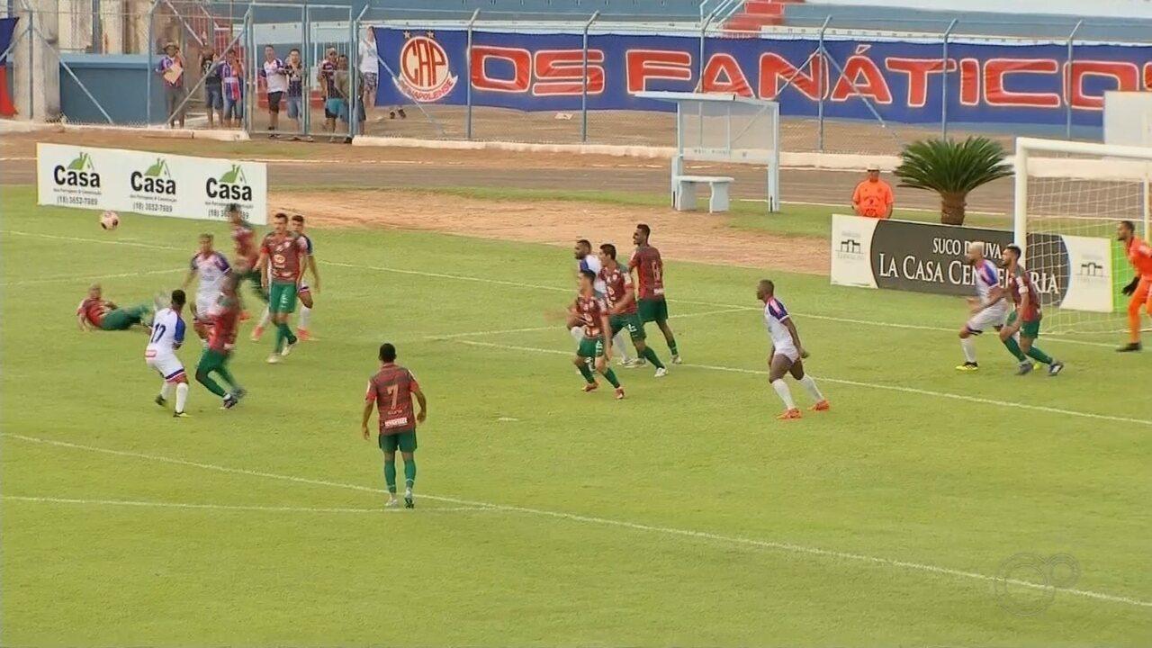 Penapolense leva gol no fim e perde para a Portuguesa pela Série A2