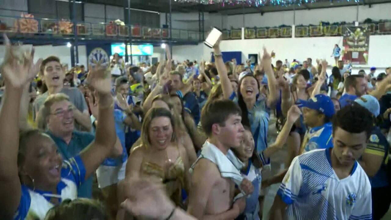 Águia de Ouro é campeã do carnaval de São Paulo pela primeira vez