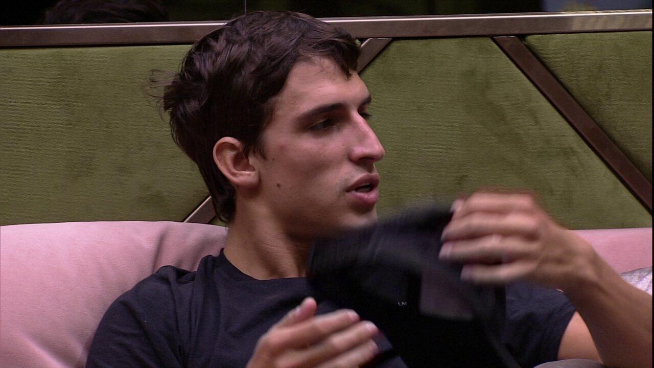 Felipe dispara para Pyong: 'Não seria seu amigo nunca porque aqui dentro você é falso'