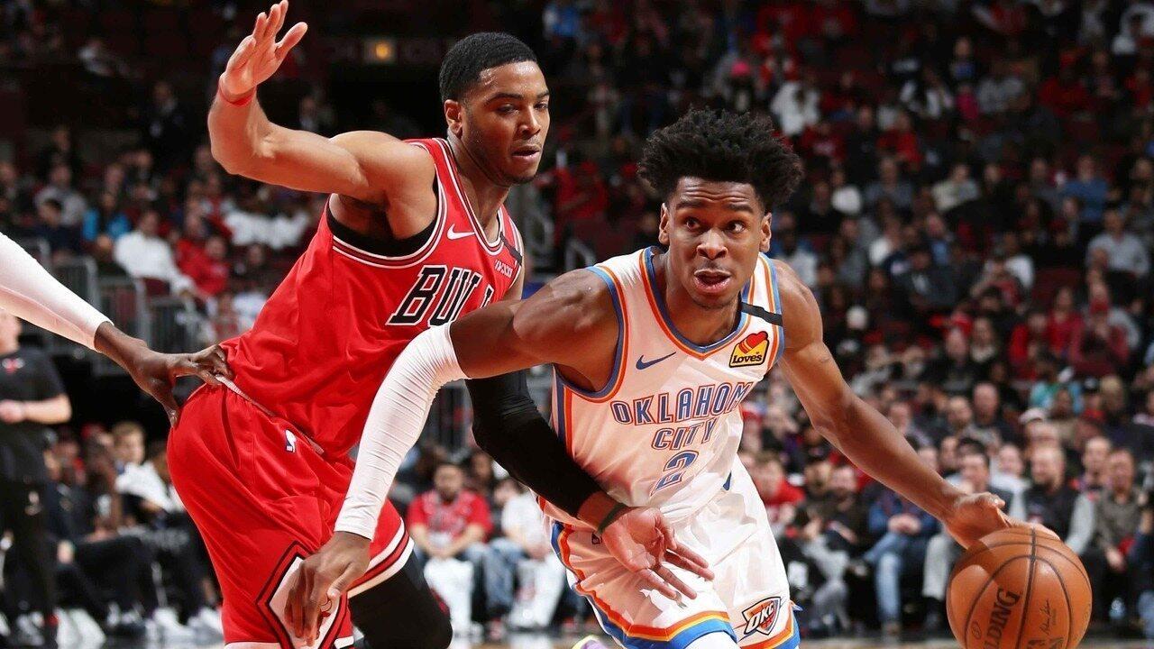 Melhores momentos de Chicago Bulls 122 x 124 Oklahoma City Thunder pela NBA
