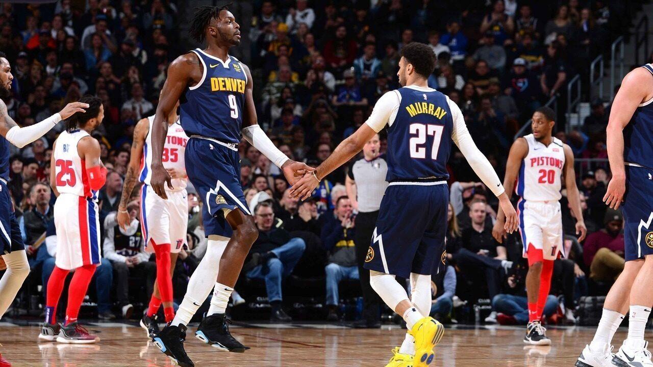 Melhores momentos de Denver Nuggets 115 x 98 Detroit Pistons pela NBA