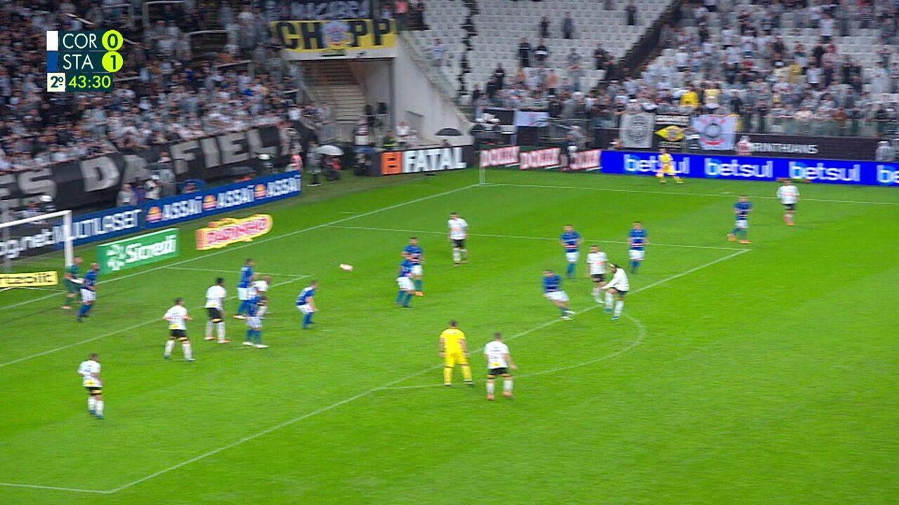 Melhores momentos: Corinthians 1 x 1 Santo André pelo Campeonato Paulista