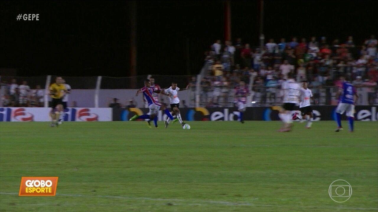 Afogados bate o Atlético-MG, nos pênaltis, e faz história ao classificar na Copa do Brasil