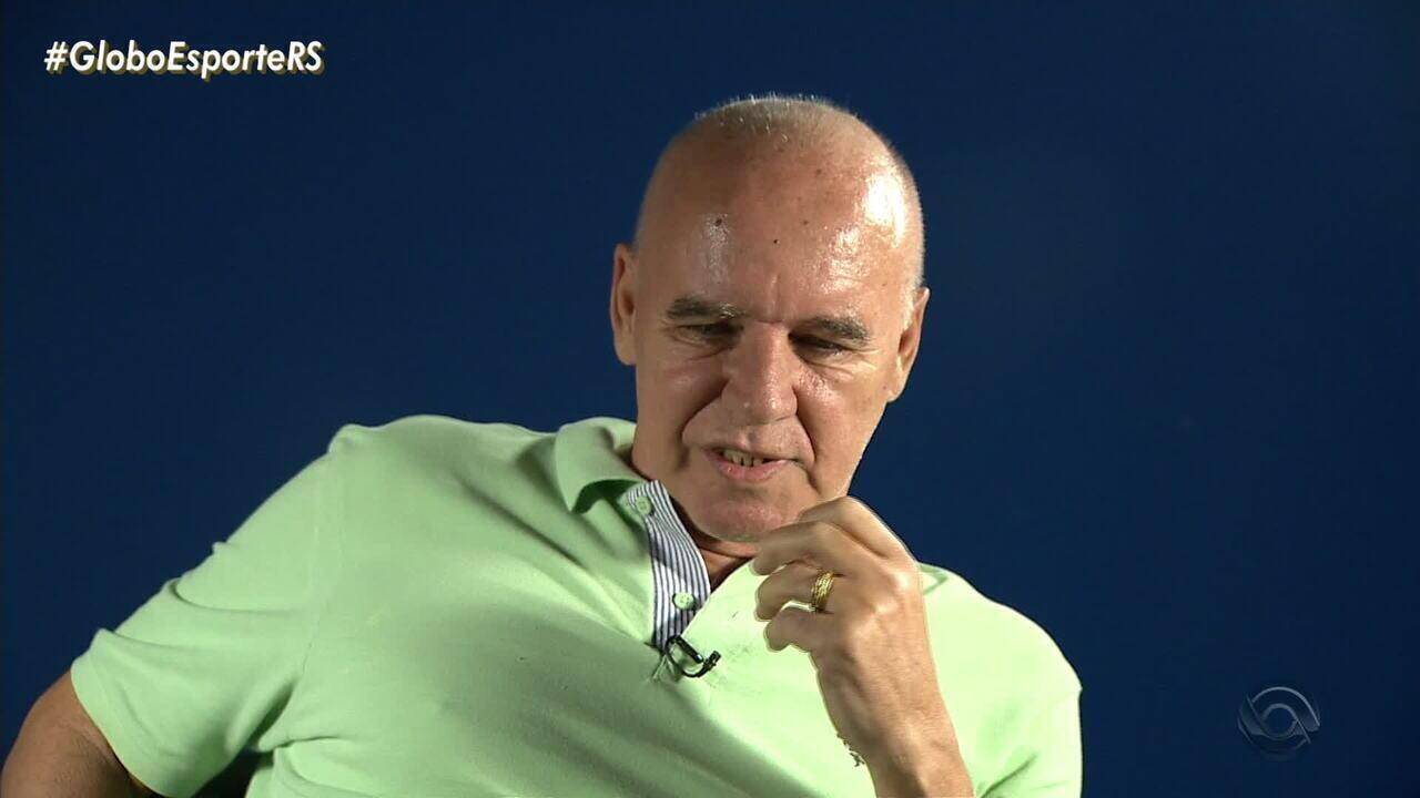 Relembre a trajetória de Valdir Espinosa no Grêmio