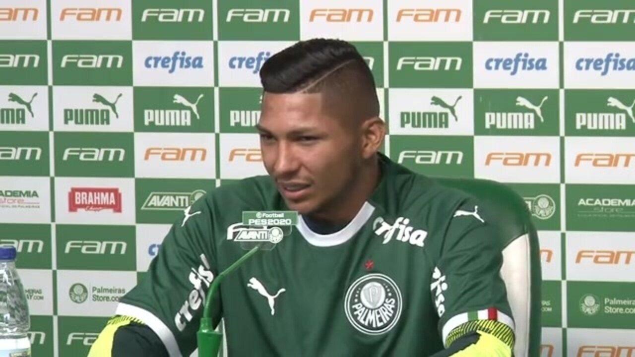 Relembre como foi a entrevista de Rony na apresentação ao Palmeiras