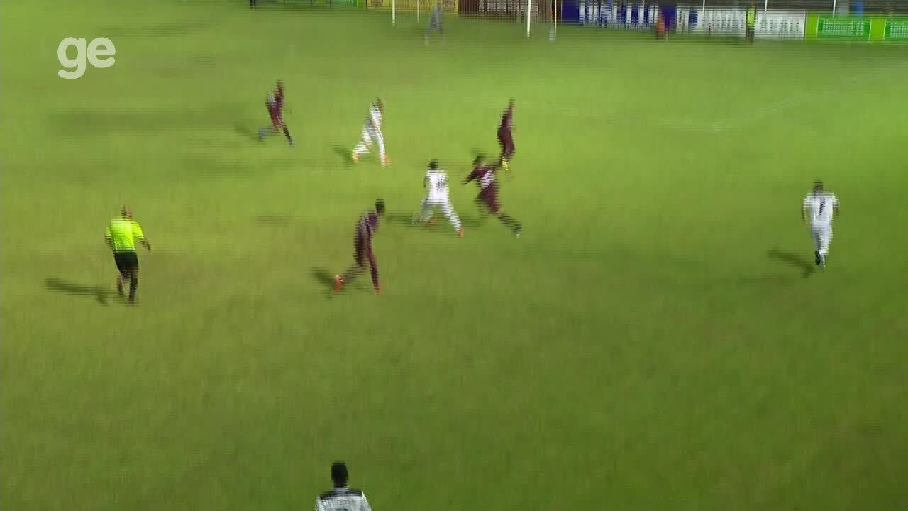 Os gols de Estrela do Norte 1 x 1 Desportiva Ferroviária, pelo Campeonato Capixaba 2020