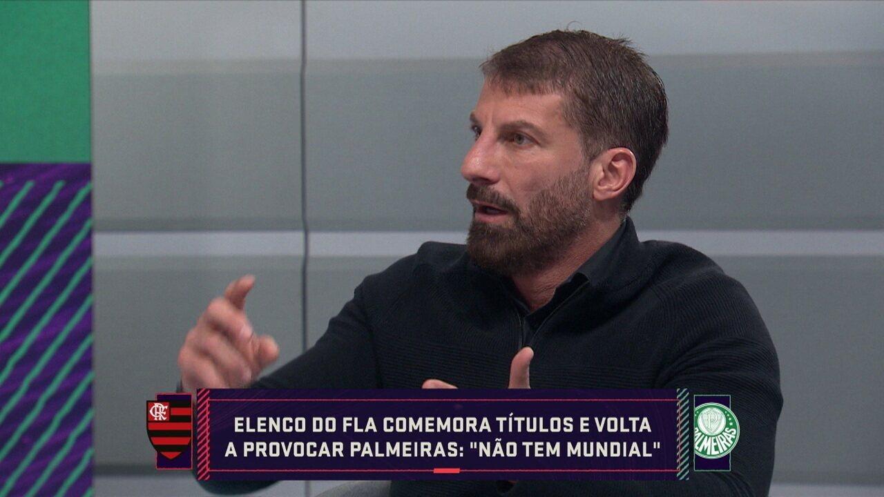 """""""Se não fosse o Jorge Jesus, o Flamengo não jogaria dessa forma"""", diz Pedrinho no Seleção SporTV"""