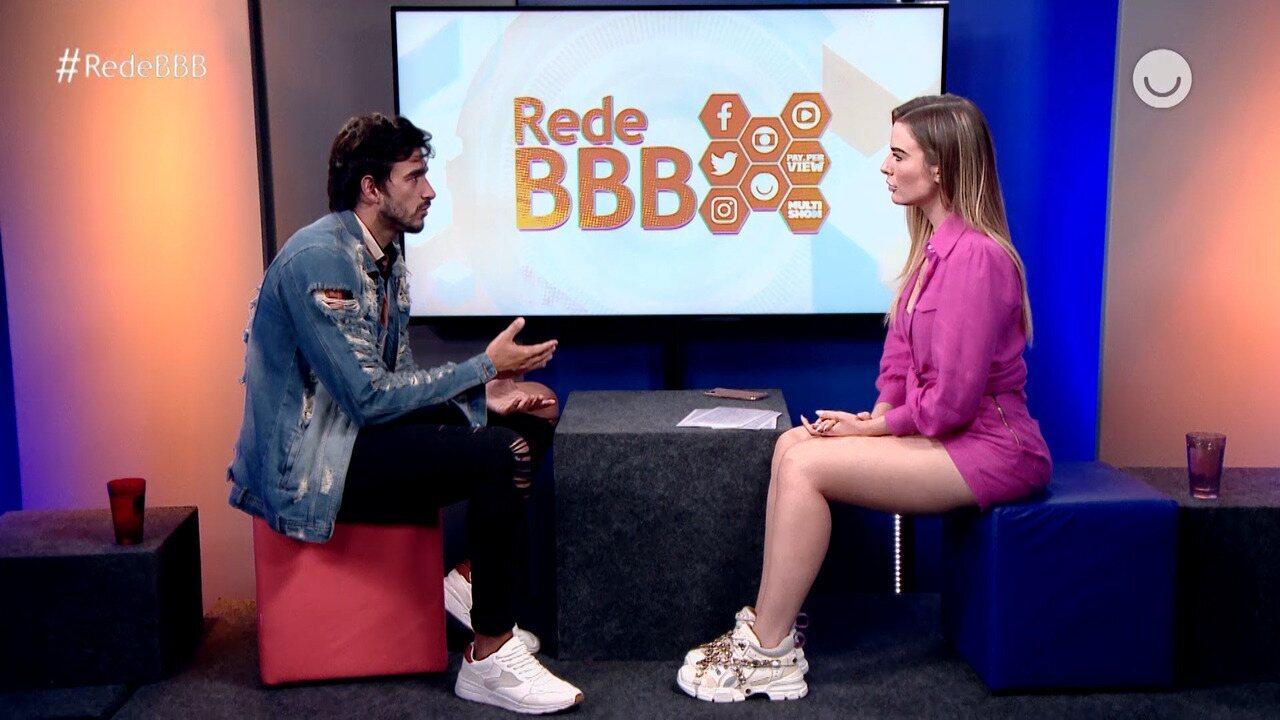 Guilherme fala sobre incômodo de Gabi por sua amizade com Bianca