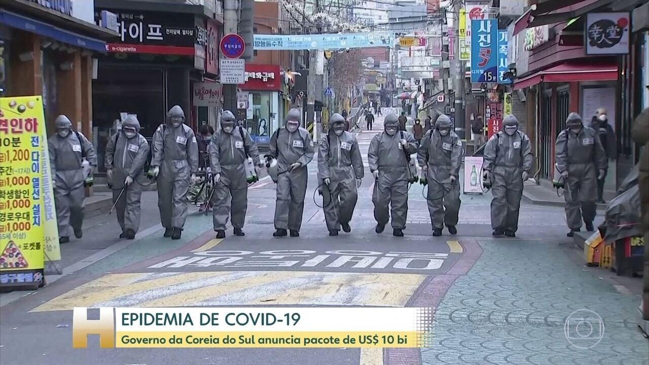 Número de mortos por coronavírus fora da China é maior do que dentro do país