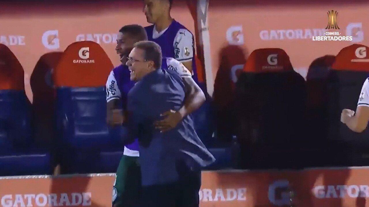 Gols de Tigre 0 x 2 Palmeiras pela Taça Libertadores