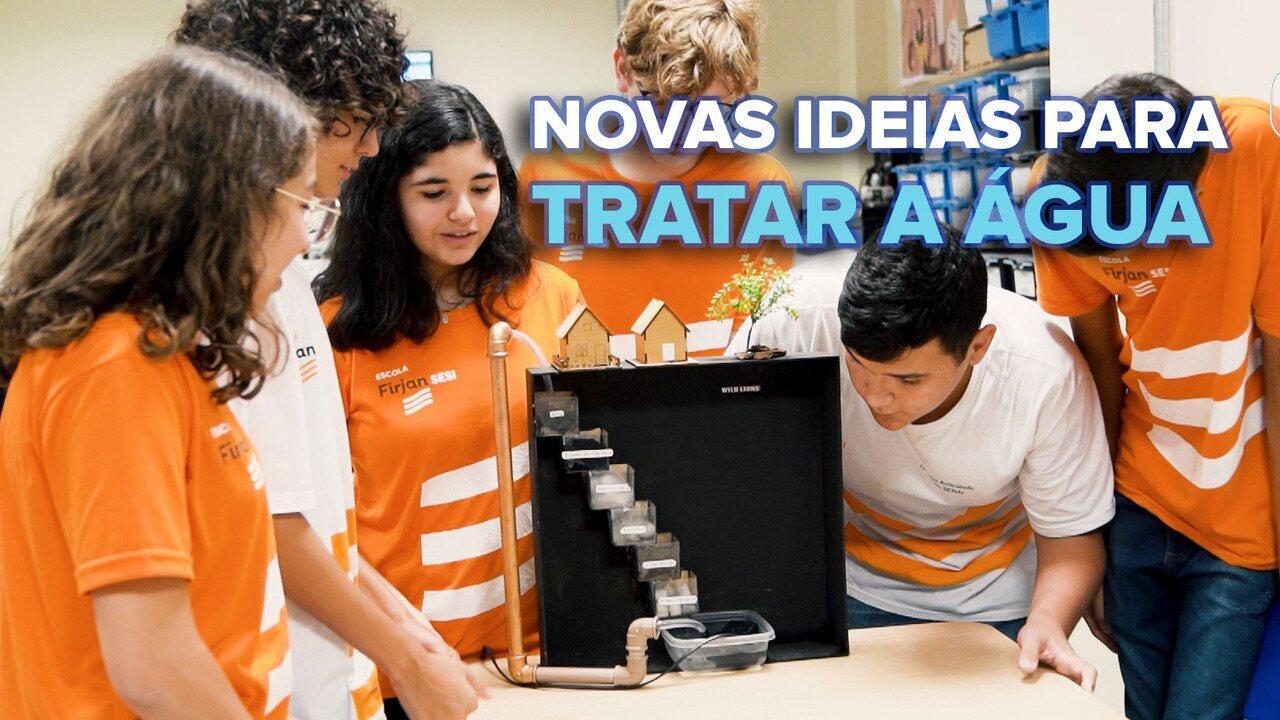 Alunos do Sesi de Nova Iguaçu criam solução para crise hídrica do RJ