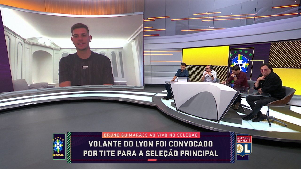Volante Bruno Guimarães fala sobre sua convocação para a Seleção Brasileira