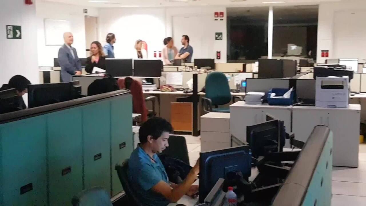 Centro de controle do Banco Central, em Brasília, que abriga sistema que vai operar o PIX