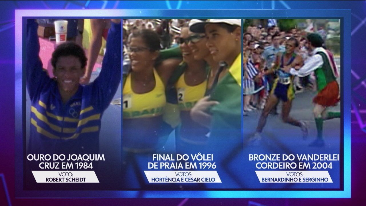 Os Maiorais - Ídolos do esporte votam no melhor momento olímpico
