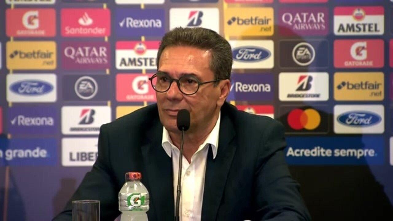 Palmeiras 3 x 1 Guaraní-PAR: veja a entrevista de Luxemburgo