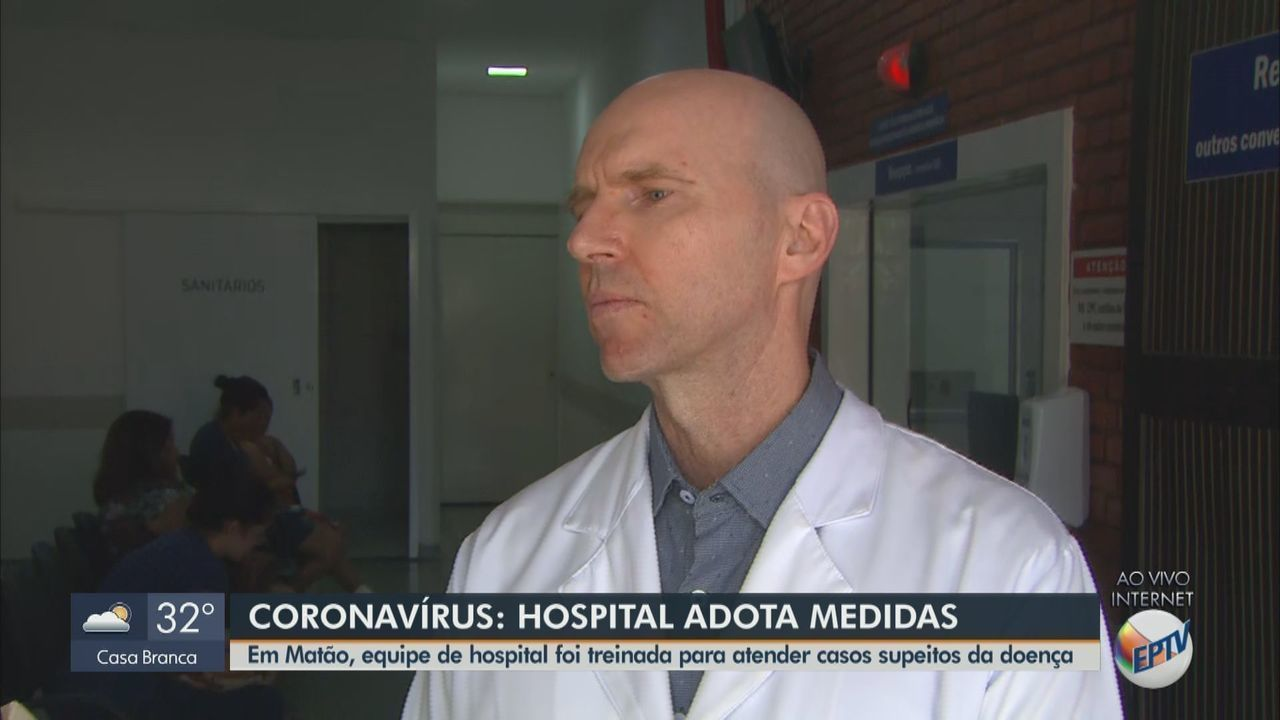 Hospital de Matão adota medidas para atender casos suspeitos de coronavírus