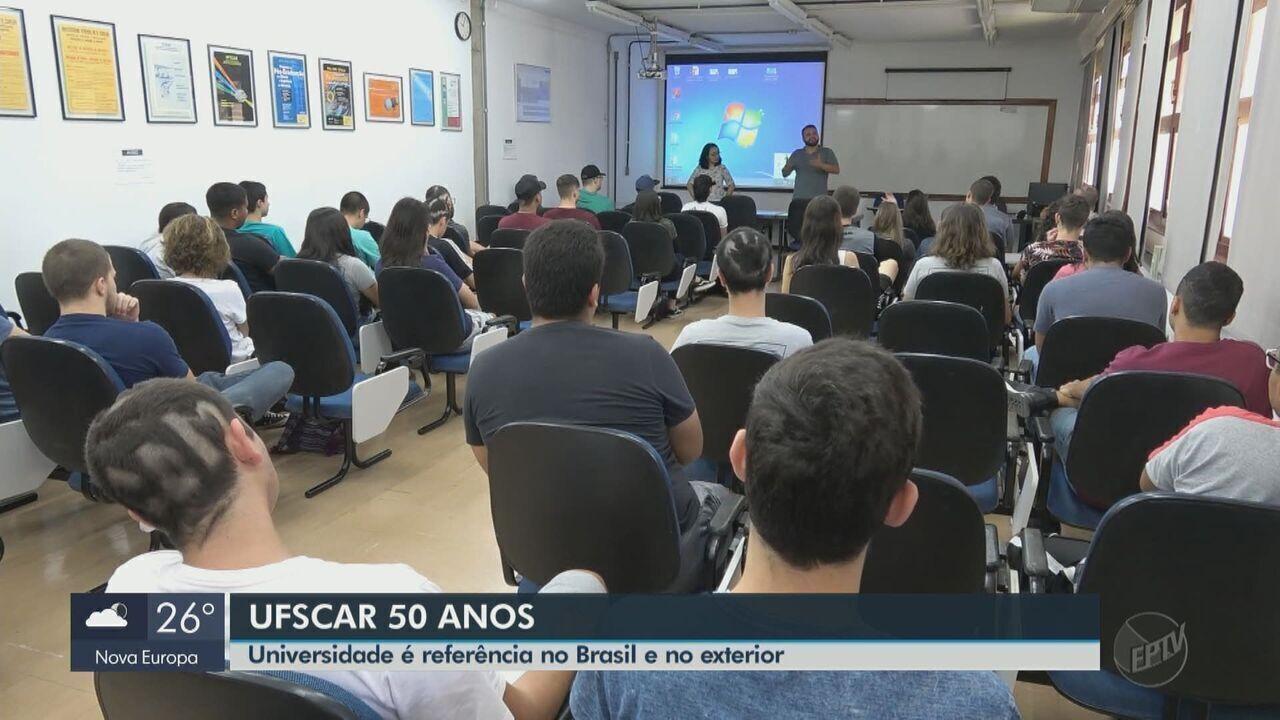UFSCar 50 anos: Universidade é referência no Brasil e no exterior