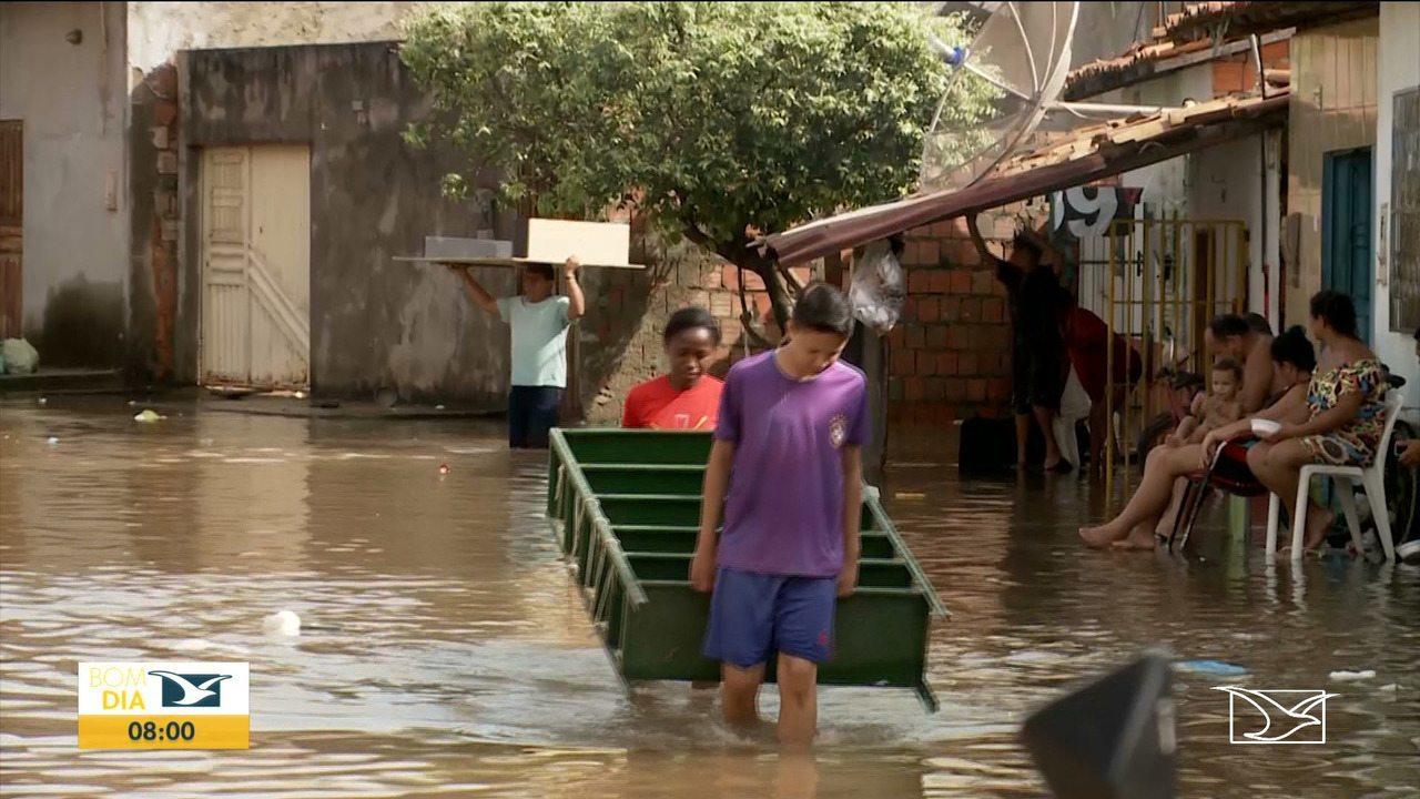 Chuvas provocam deslizamentos entre Imperatriz e Açailândia