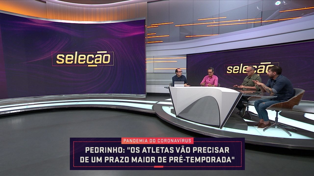 Comentaristas falam sobre possibilidade de nova pré-temporada dos jogadores de futebol