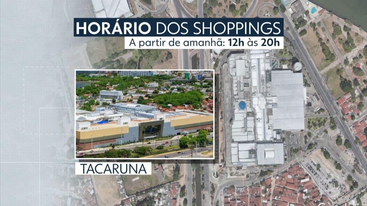 Shoppings do Grande Recife anunciam mudança de horário por causa de coronavírus