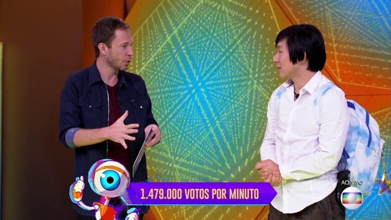 BBB20: Paredão entre Babu, Pyong e Rafa bate recorde de votação simultânea por minuto