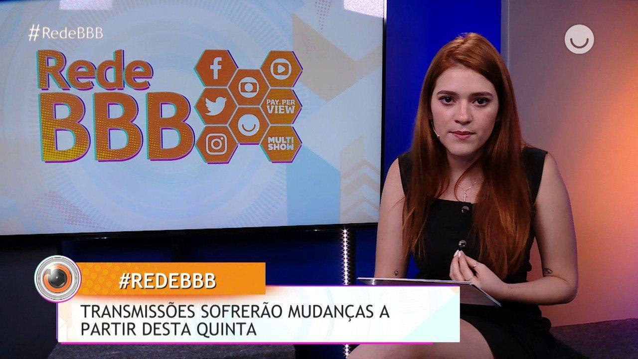 Transmissões da RedeBBB sofrerão mudanças a partir de de quinta-feira, 19/03!