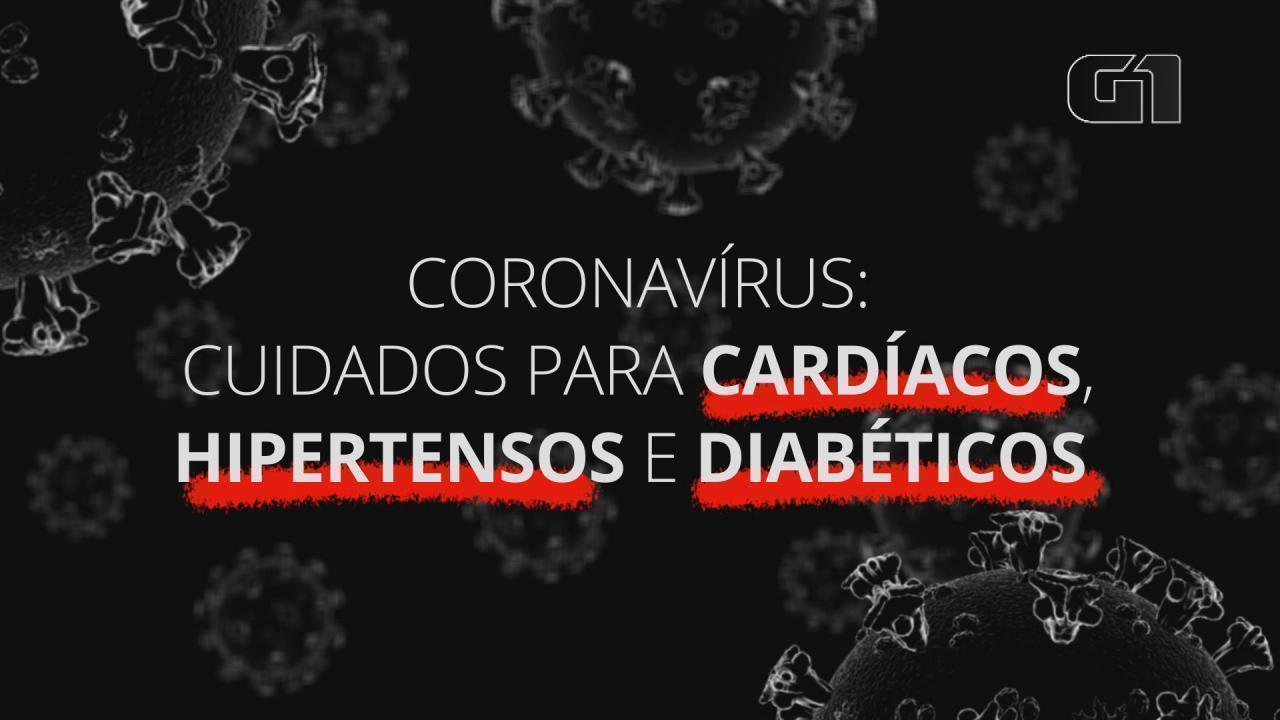 Coronavírus: cuidados para cardíacos, hipertensos e diabéticos