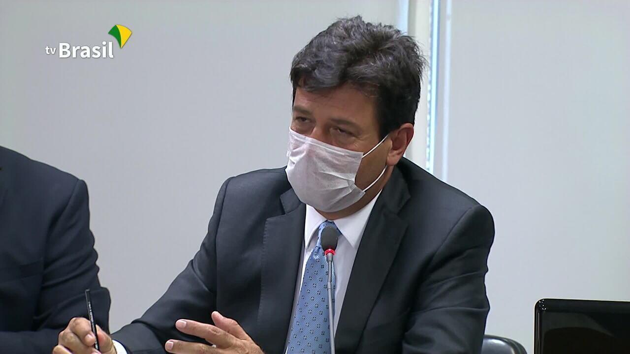 Ministro Mandetta fala da expectativa de contágio do coronavírus: 'Dispara em abril'