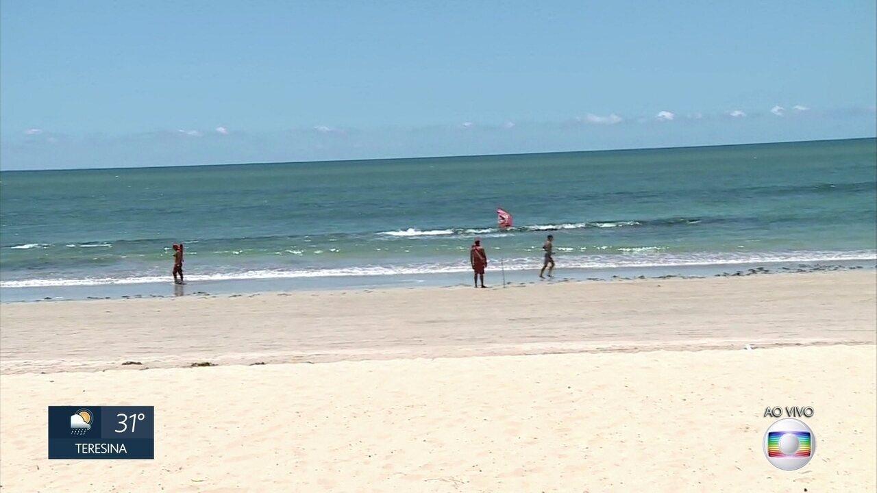 Praias são fiscalizadas para evitar aglomerações e evitar contaminação pelo coronavírus