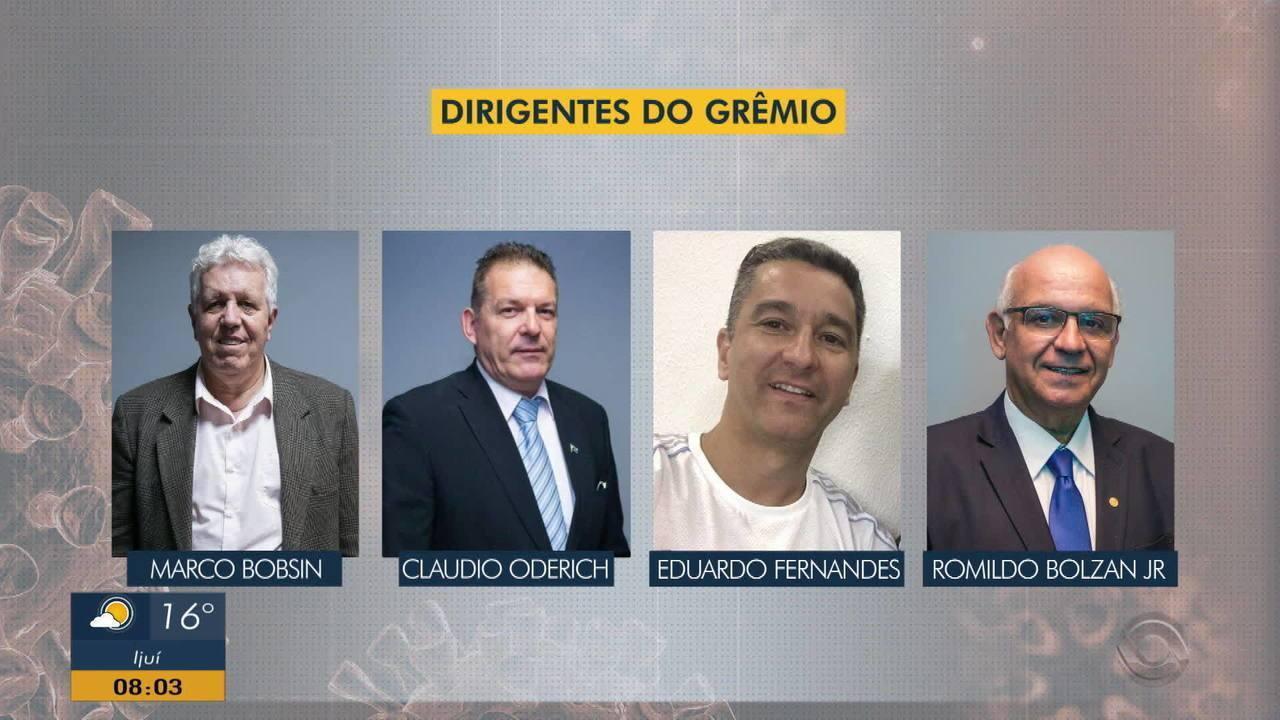 Presidente e outros três dirigentes do Grêmio testam positivo para Coronavírus