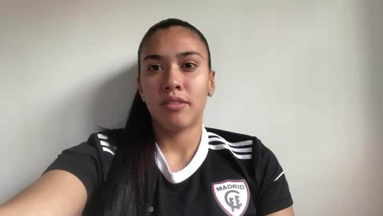 Zagueira Antonia Silva fala como está a situação em Madri