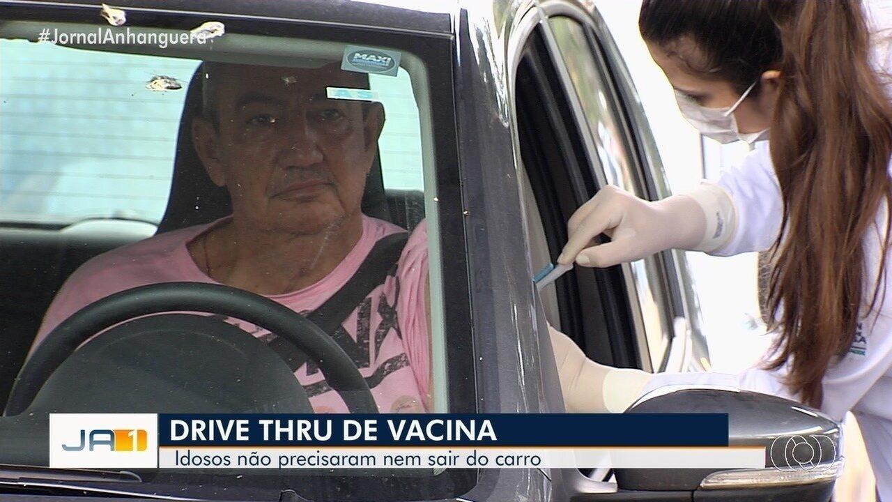 Resultado de imagem para drive thru vacina