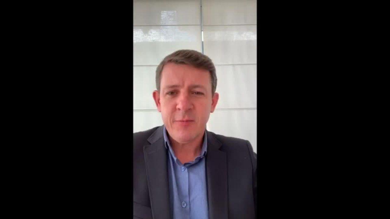 Prefeito de São Bernardo do Campo, no ABC Paulista, anuncia que está com coronavírus.