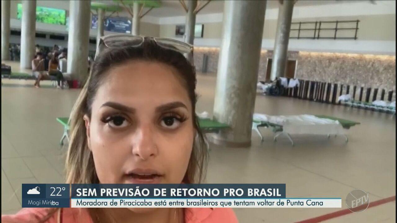 Moradora de Piracicaba está entre brasileiros que tentam voltar de Punta Cana