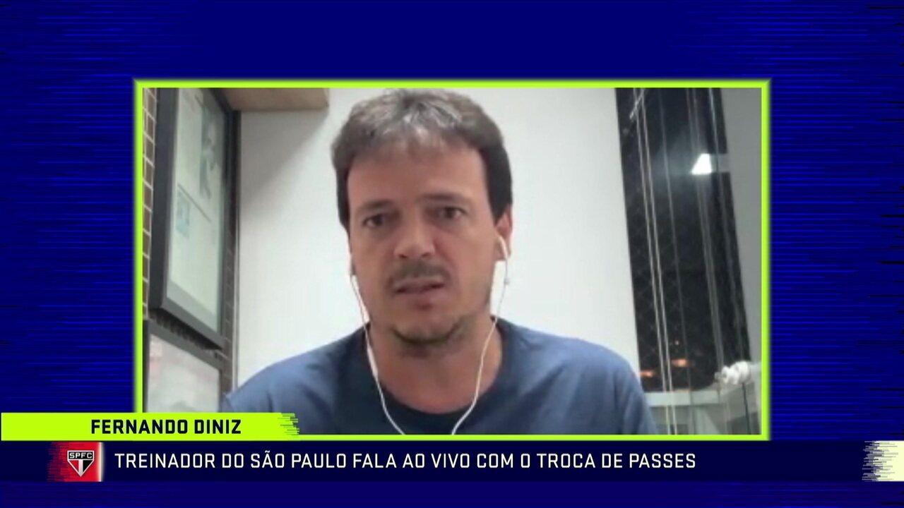 Fernando Diniz comenta trabalho realizado no São Paulo em 2020