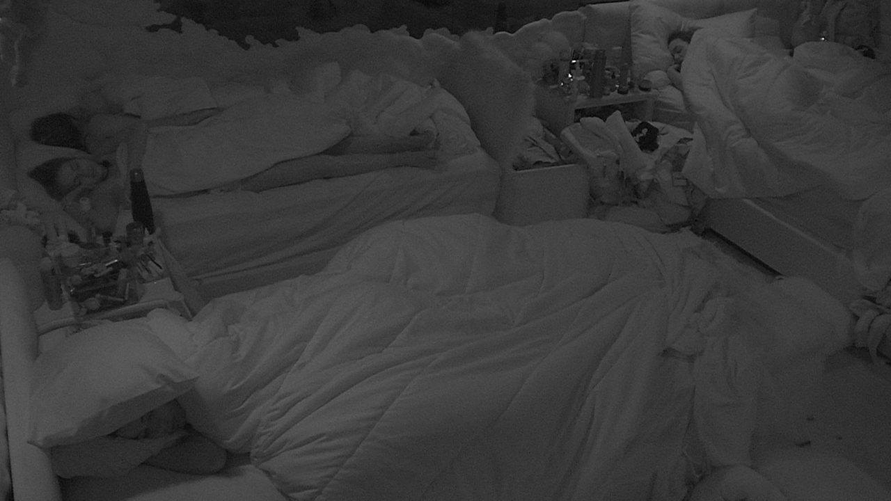 Após a Festa da Líder Thelma, todos dormem na casa do BBB20
