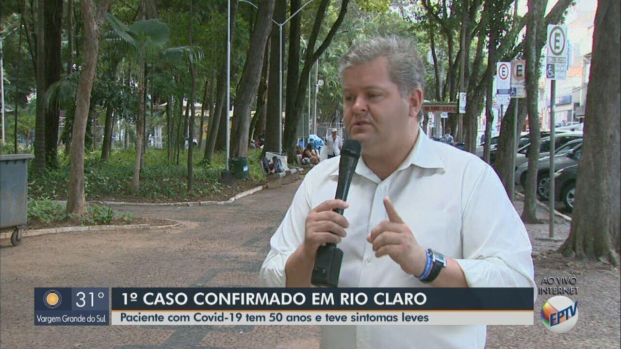 Rio Claro confirma primeiro caso de coronavírus em homem de 50 anos