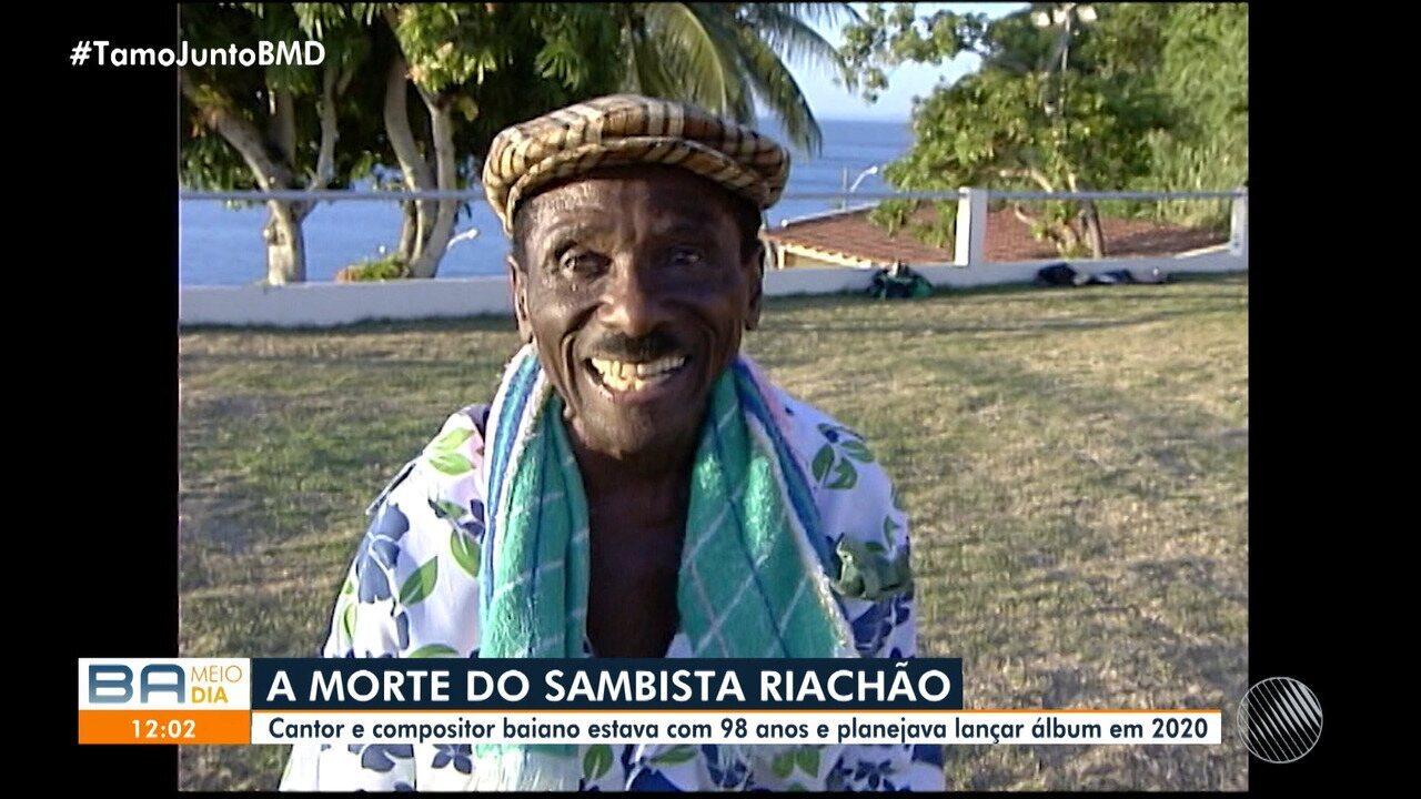 Luto: Morre o sambista baiano Riachão, aos 98 anos, em Salvador