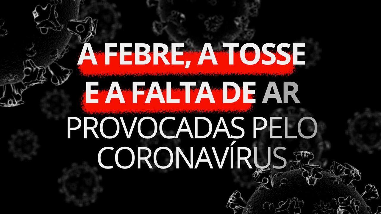 Coronavírus: como são a febre, a tosse e a falta de ar