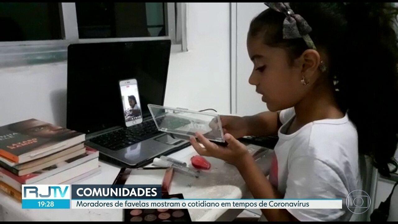 Nas favelas, famílias usam a criatividade em tempos de confinamento.