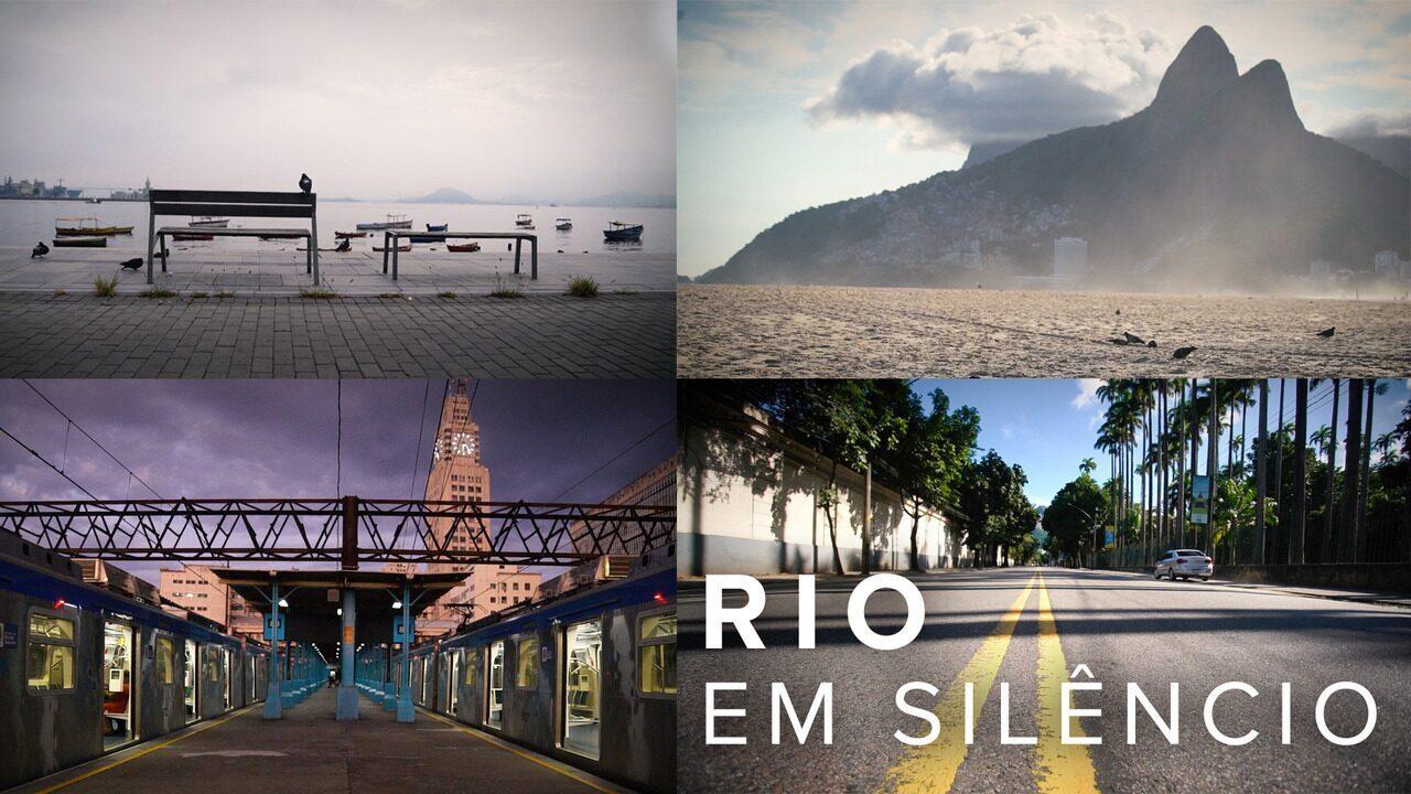 Rio em silêncio: quarenta deixa cidade vazia