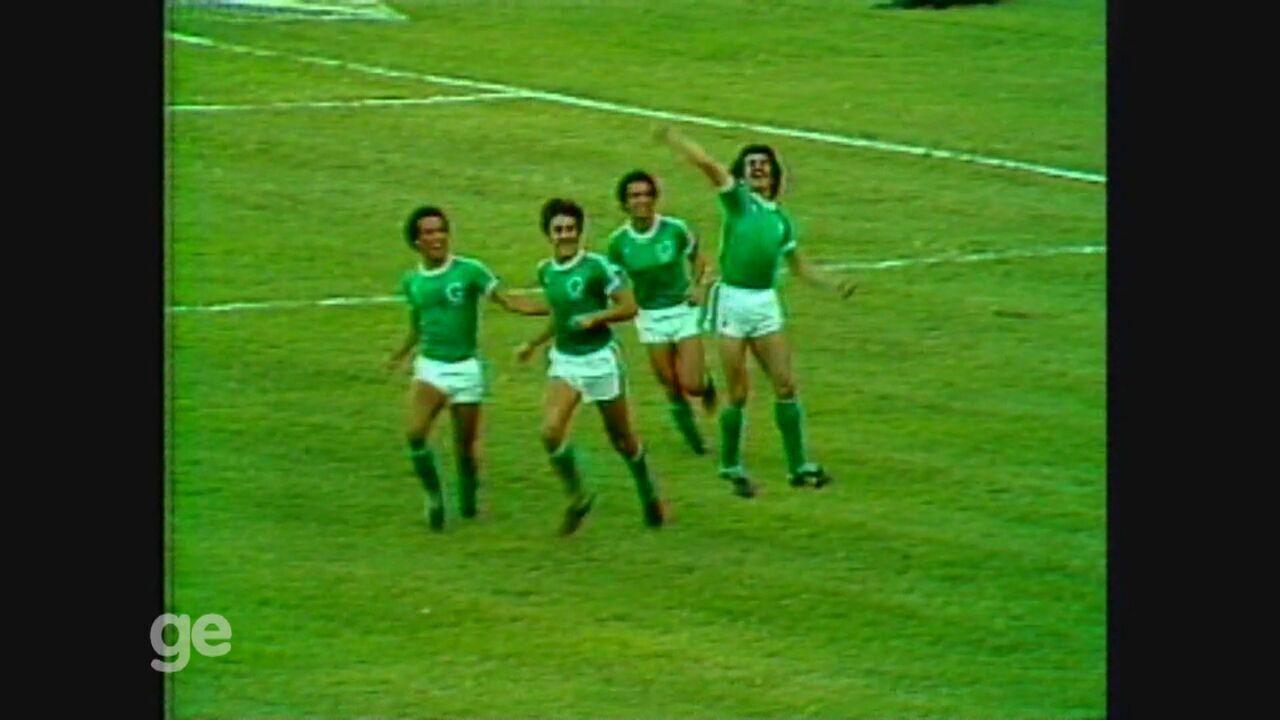 Guarani faz 2 a 1 no Vasco e chega à final do Brasileirão de 1978