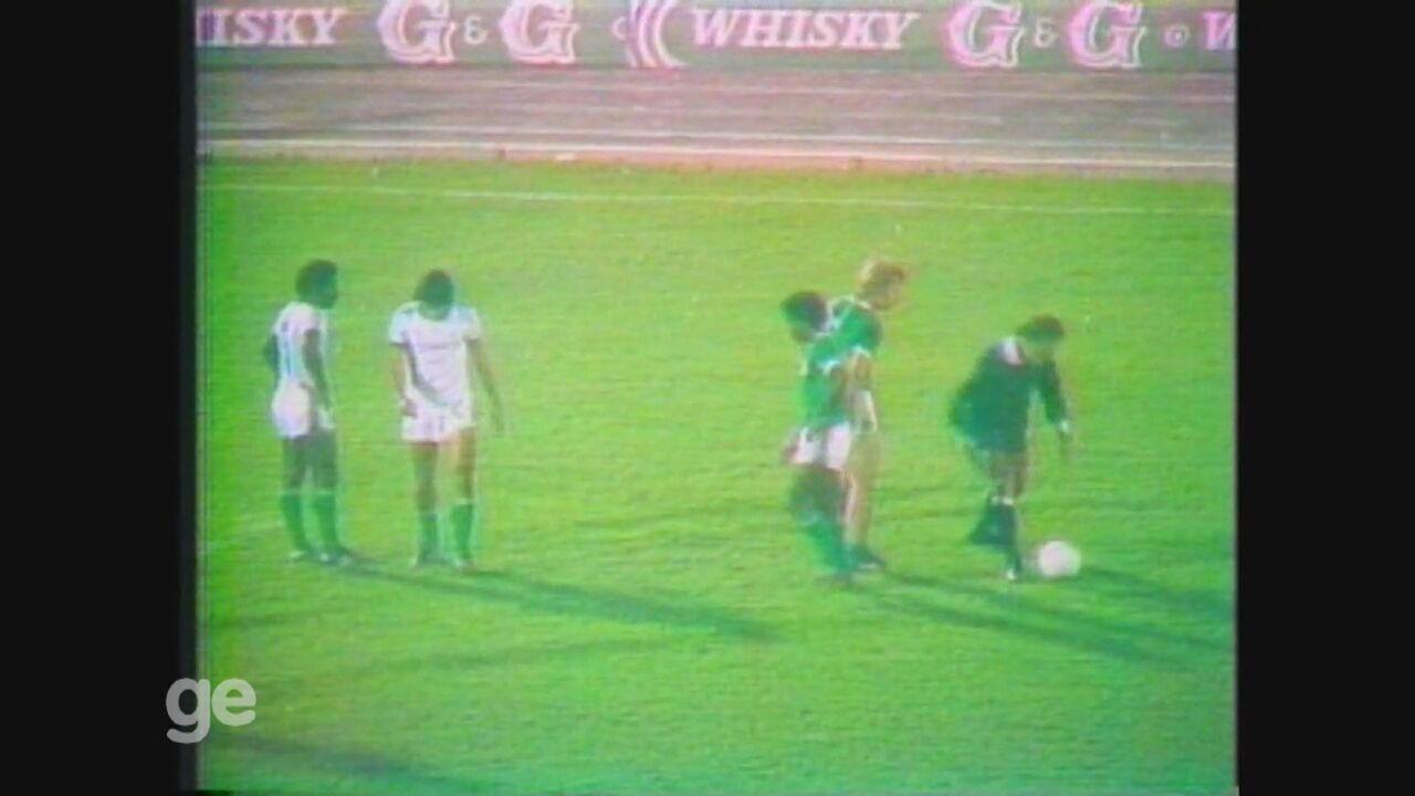 Guarani faz 1 a 0 no Palmeiras e leva o título do Campeonato Brasileiro de 1978